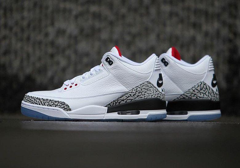 wholesale dealer fa01e 39048 air jordan 3 men shoes-white cement/NIKE | jumpers | Air ...