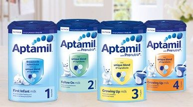 Aptamil First Milk - Baby Milk & Formula - Aptaclub | Child