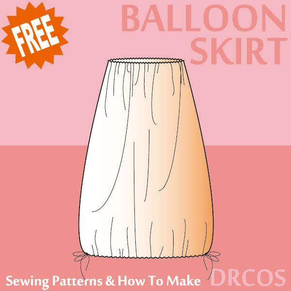 Balloonskirts sewing patterns & how to make | Sewing for Woman ...
