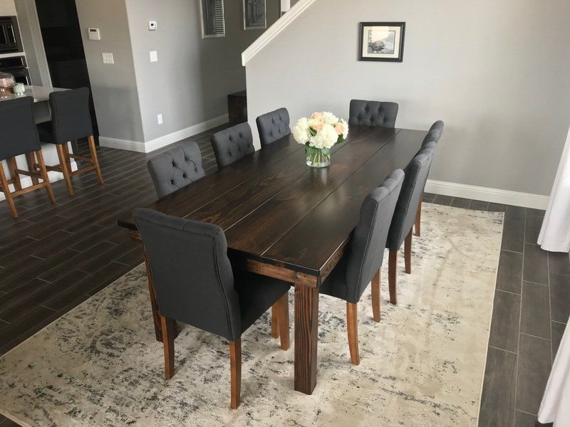 Amazing Dining Room Table For Dark Wood Floors 46 With Additional Diningsets Design Id Dark Wood Dining Room Table Wood Floor Dining Room Dark Wood Dining Room