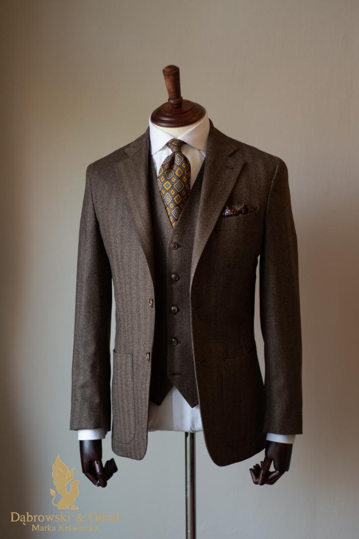 Garnitur Brazowy Wedding Suits Suits Suit Jacket