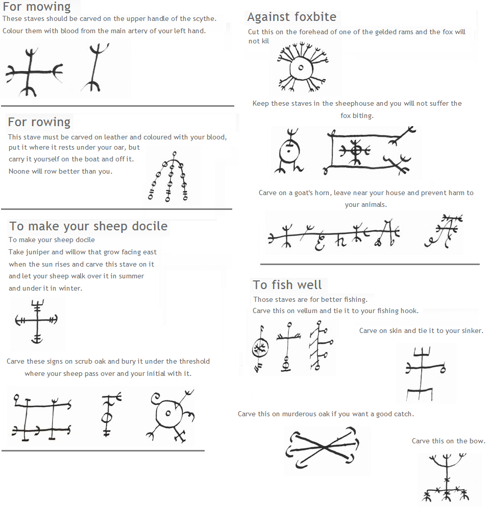 Httpfafni rtumblr staves or magical im bann der icelandic magical signs the descriptions on when to use these are hilarious docile sheep anyone biocorpaavc