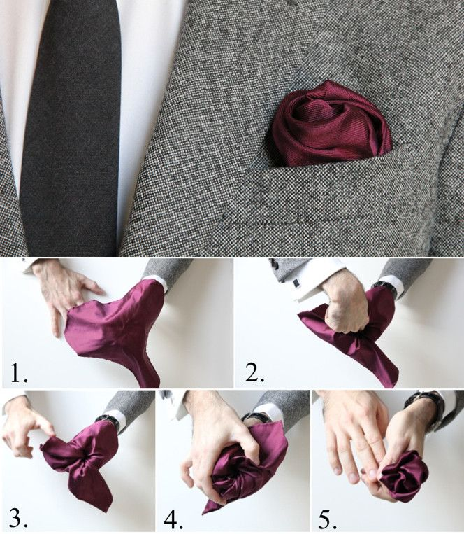 How To Fold a Pocket Square - He Spoke Style