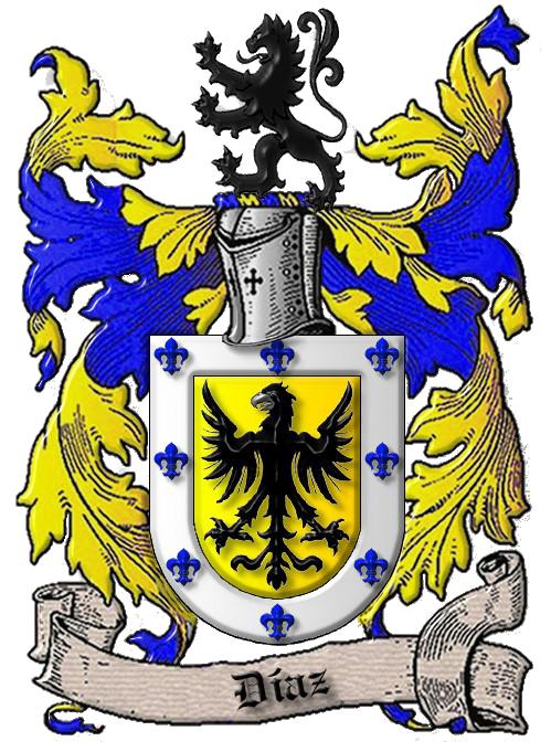 Apellido Diaz En Murcia Escudo De Armas Apellidos Escudo De Armas Escudo De La Familia