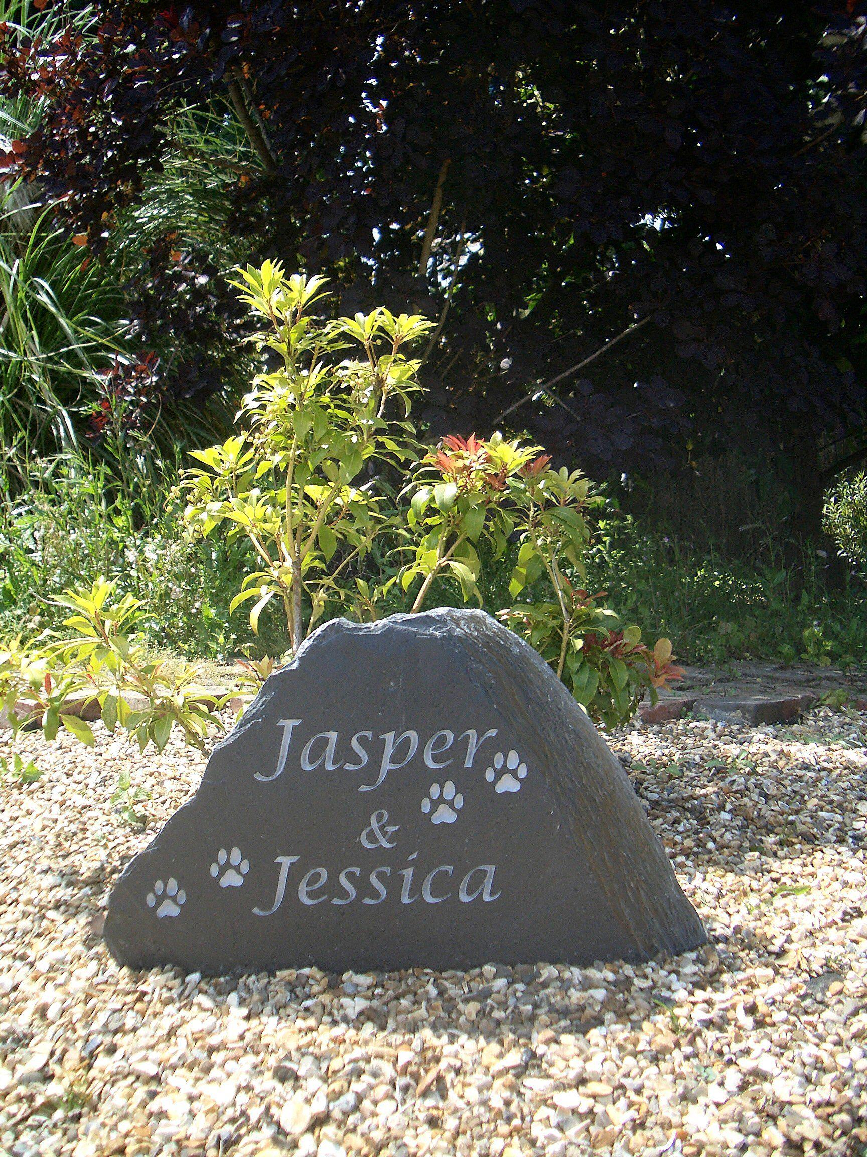 Pet Memorials Pet memorials, Pet memorial stones