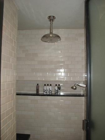 Soho House Steam Shower Retro Fixtures Amd Subway Tile
