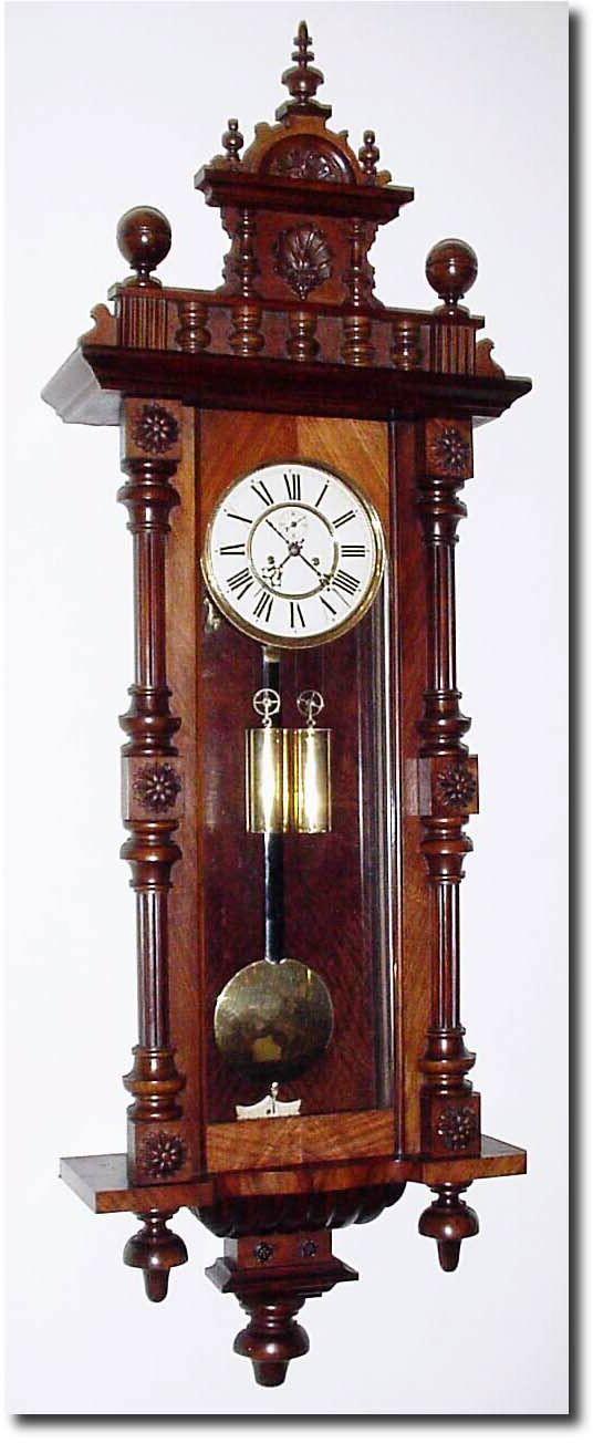 German Antique Clocks Antique German or Germany Wall Vienna Clock