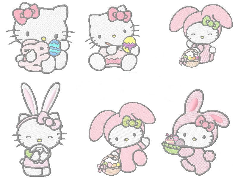 HK shrinky dink images for Easter | kitty | Pinterest
