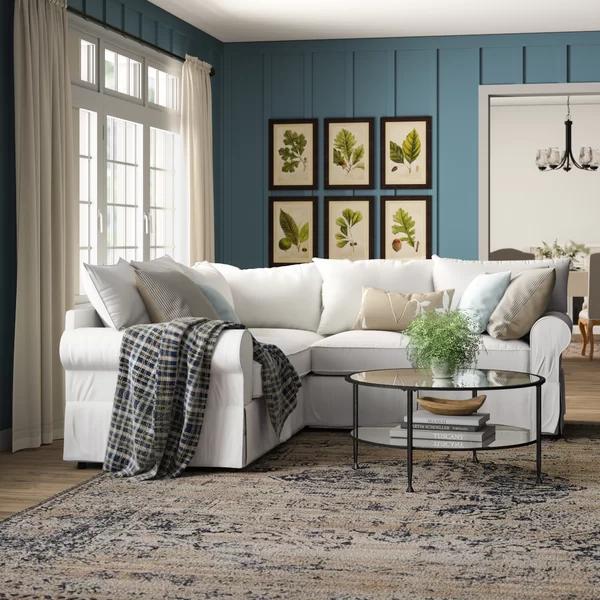 Jameson 94 Upholstered Symmetrical Sectional In 2020 Living