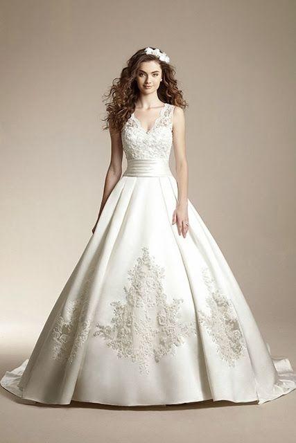 vestidos de novia con encaje | moda 2014 | cosas de novia