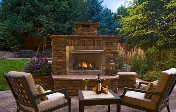 Outdoor Fireplace Insert Outdoor Fireplace American Design