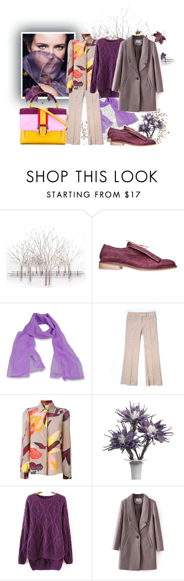 """Purple  Sweater"" by tasha1973 ❤ liked on Polyvore featuring Home Decorators Collection, Anouki, Chanel, White Sierra, BCBGMAXAZRIA, Missoni and Paula Cademartori"