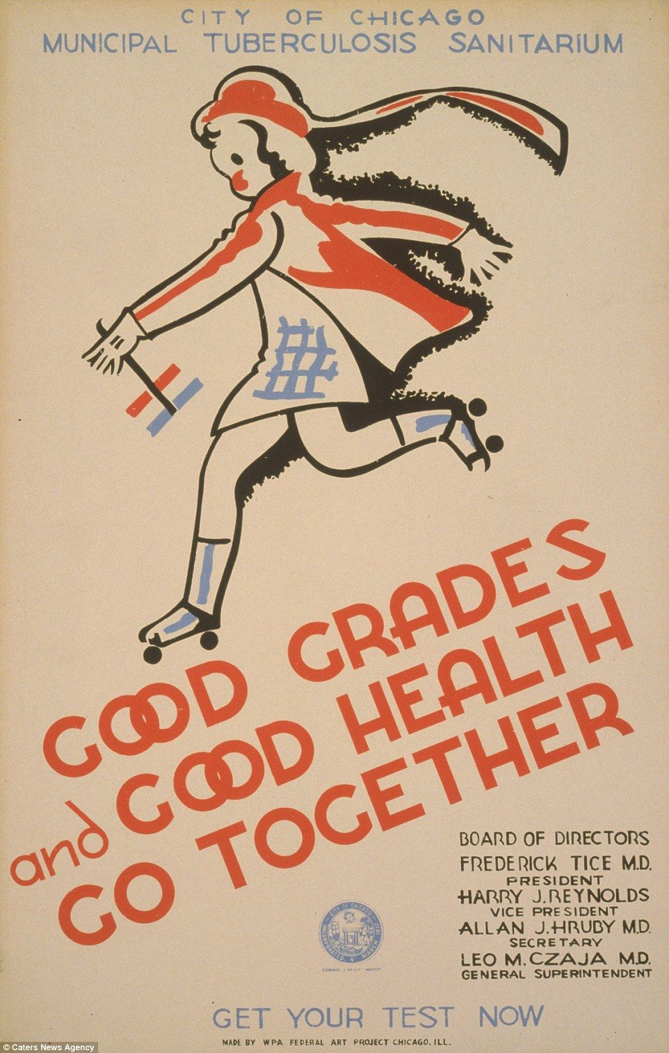 Vintage public health posters show past attitudes towards