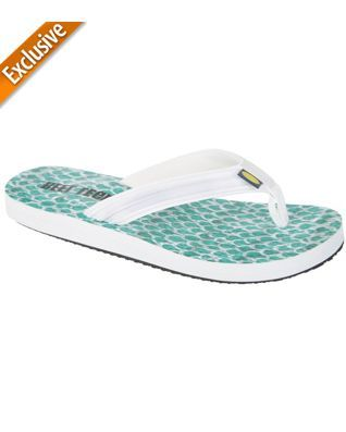 9108f05ae80 Reel Legends Womens Barbados White Flip Flops
