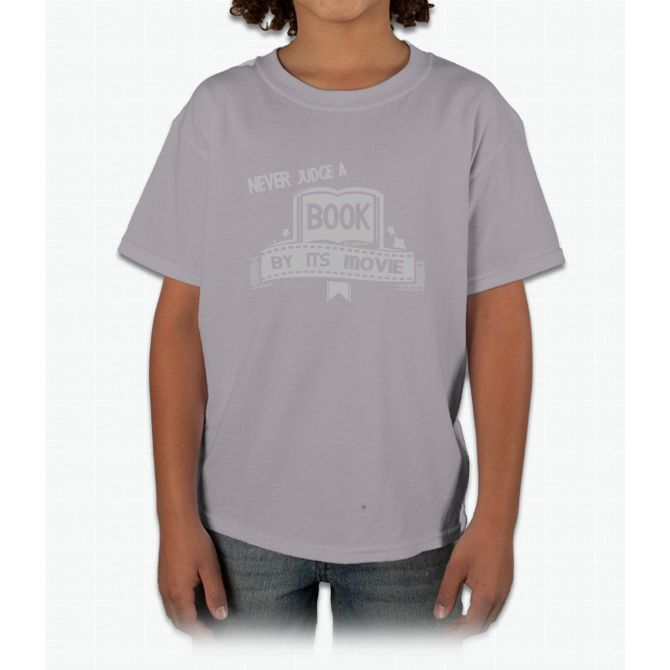 Never Judge Movie By Its Book Tee Bee Movie Young T-Shirt