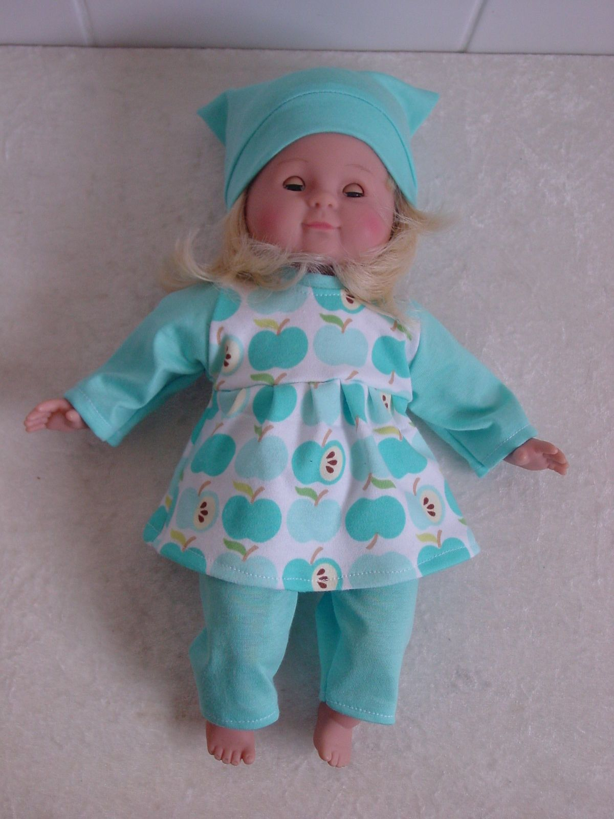 Puppenkleidung Winter Set f.z.B. Little Baby Born,Schlummerle, o.a. ...