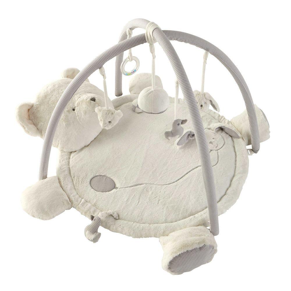 mothercare tapis deveil ourson gris