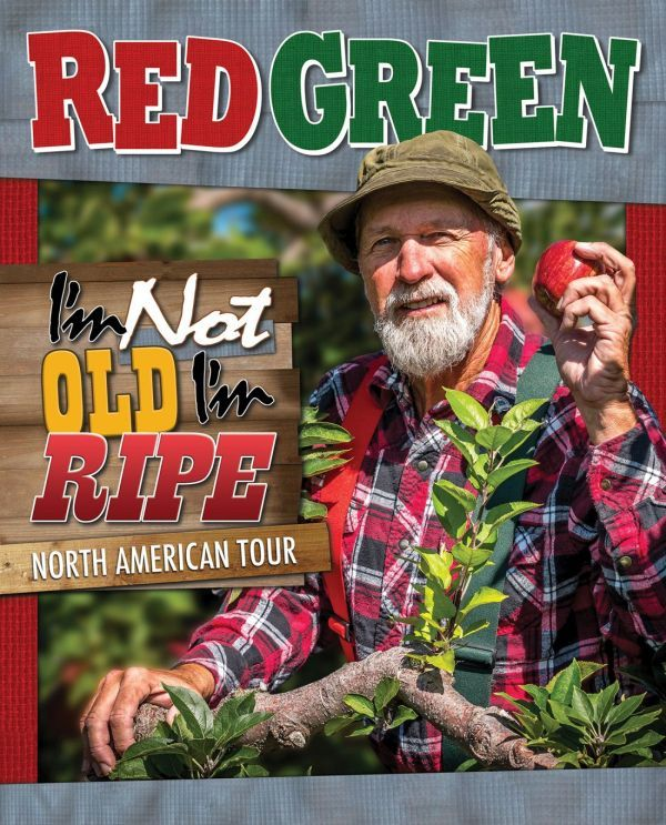 October 15 at 7pm The red green show, History humor, Red
