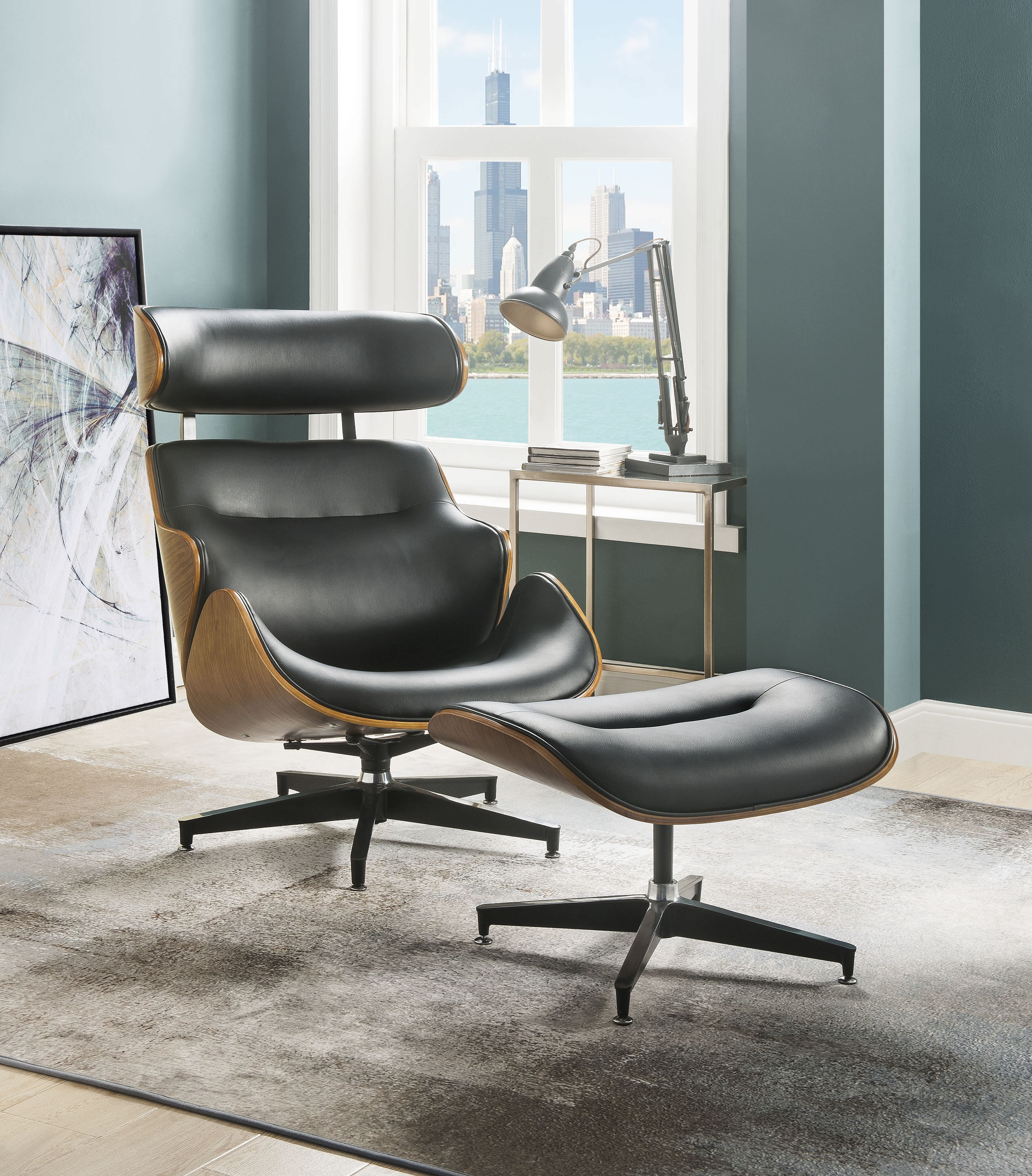 Pin on Chair and ottoman