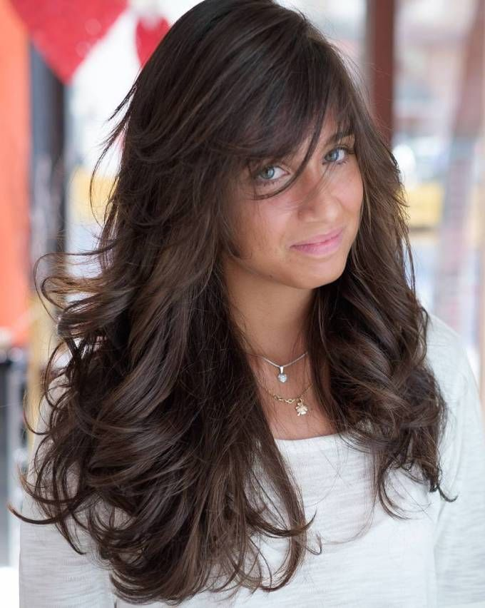 how to style layered hair with side bangs 40 side swept bangs to sweep you your brown 9360