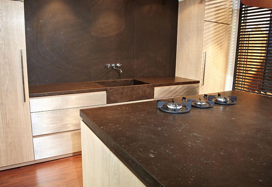 Schieferplatten Küche küchenarbeitsplatte aus schiefer moderner stil