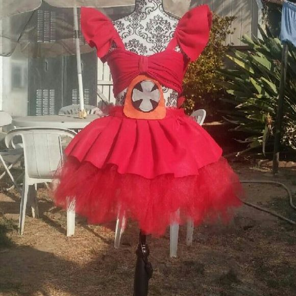 Shop Kids Handmade Red Size Various Halloween At A