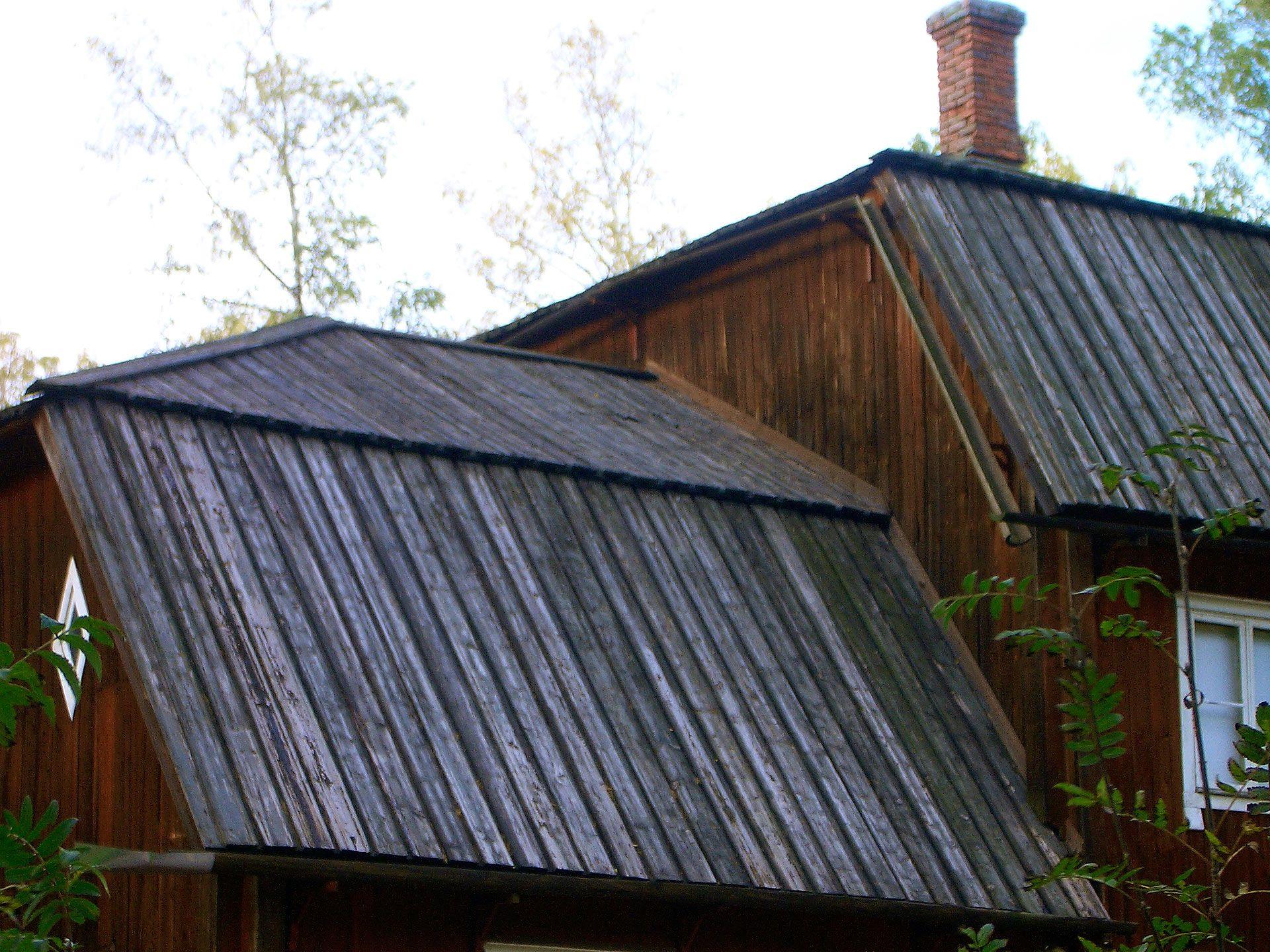 Best Roofing Of Tarred Planks Seurasaari Open Air Museum 640 x 480