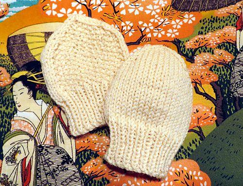 Ravelry: Itty Bitty Mittens pattern by Elsa & Em