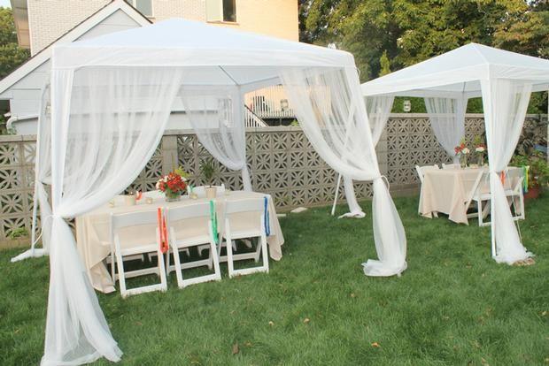 Outdoor Weddings With Lots Of Color Decor Ideas For Beach Wedding Source Hwtm