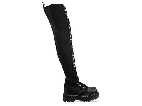 vendita online venduto in tutto il mondo prezzi incredibili RARE Dr. Martens LIMITED EDITION AGGY TALL 25 EYE Over Knee US 5 ...