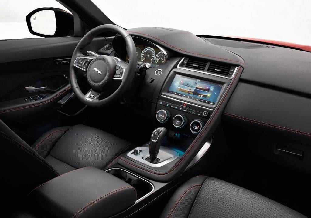 Jaguar E Pace 2019 2020 Um Crossover Compacto Jaguar Preco Consumo Interior E Ficha Tecnica Interior De Carros De Luxo Carros De Luxo Crossover