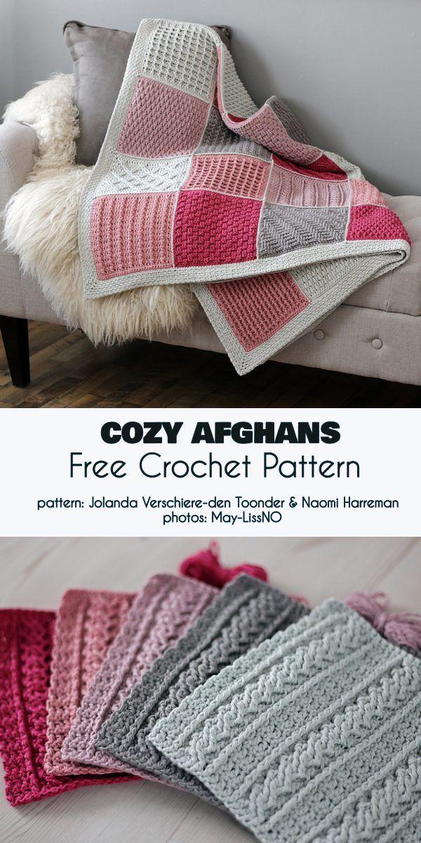 Cozy Afghans Free Crochet Pattern