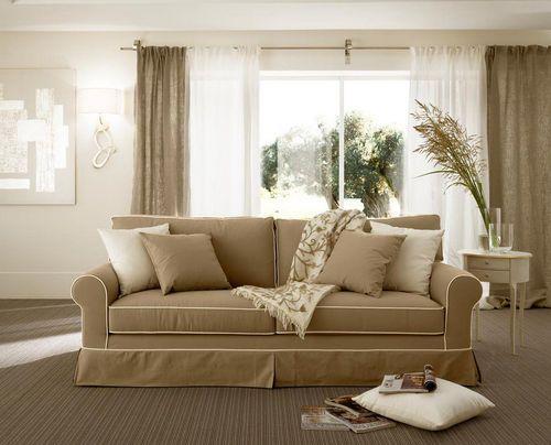 Shabby chic traditional style sofa RIVOLI CANTORI Divano