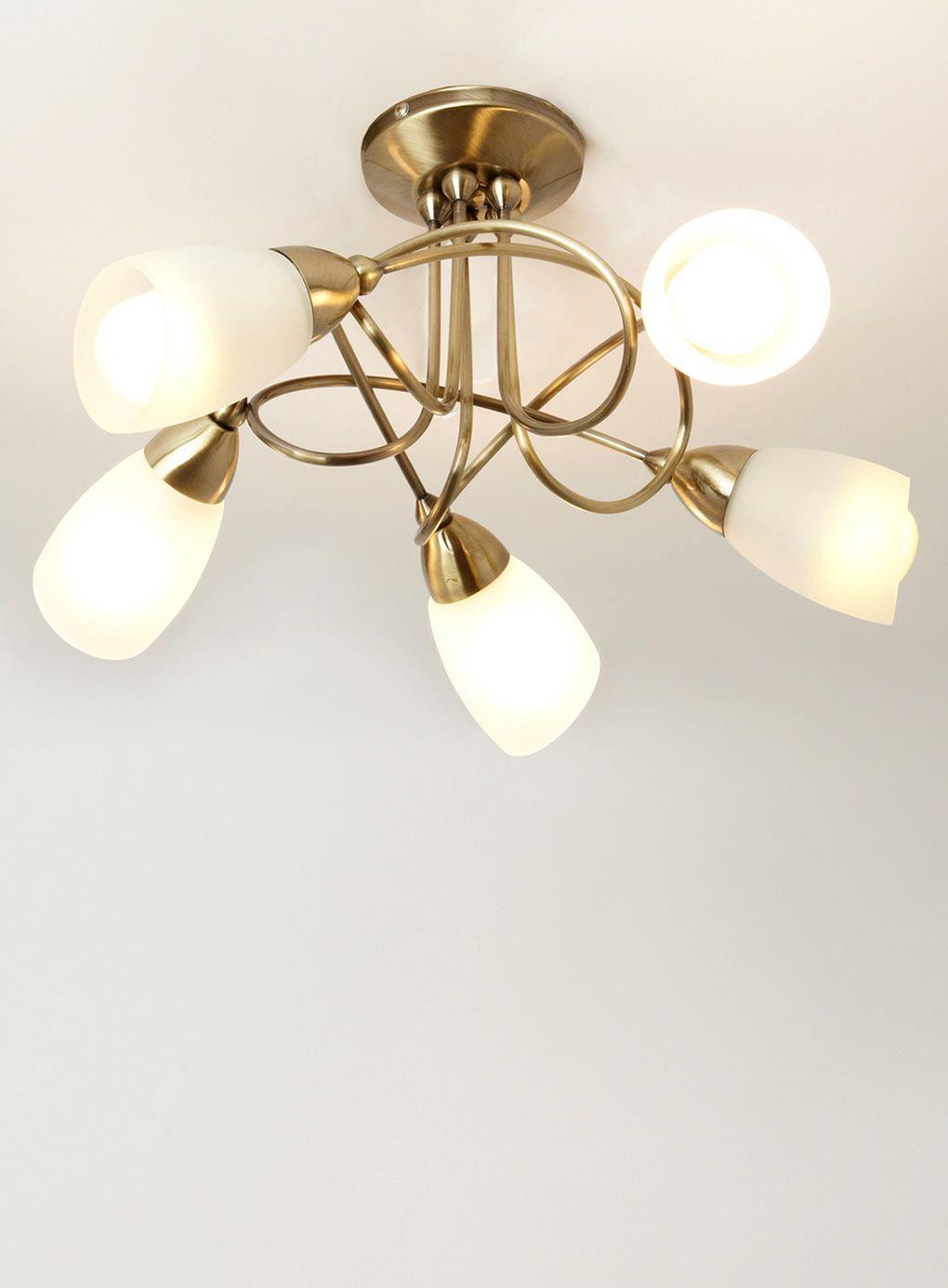 ottoni 5 light ceiling fitting - ceiling lights - home, lighting