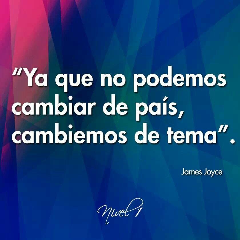 James Joyce El Famoso Escritor De Ulyses Frases Frases