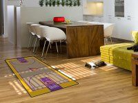 Los Angeles Lakers Large Court Runner Mat. $39.99 Only.