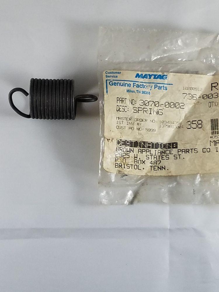 Maytag crosley admiral whirlpool washer spring 30700002