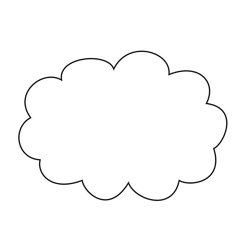 Bulut Sablonlari Bulutlar Sanat Etkinlikleri Ve Sanat