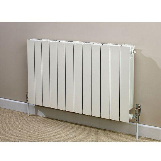Supplies 4 Heat Saxon Horizontal Aluminium Radiators Flat Panel Radiators Flat Radiators White Paneling