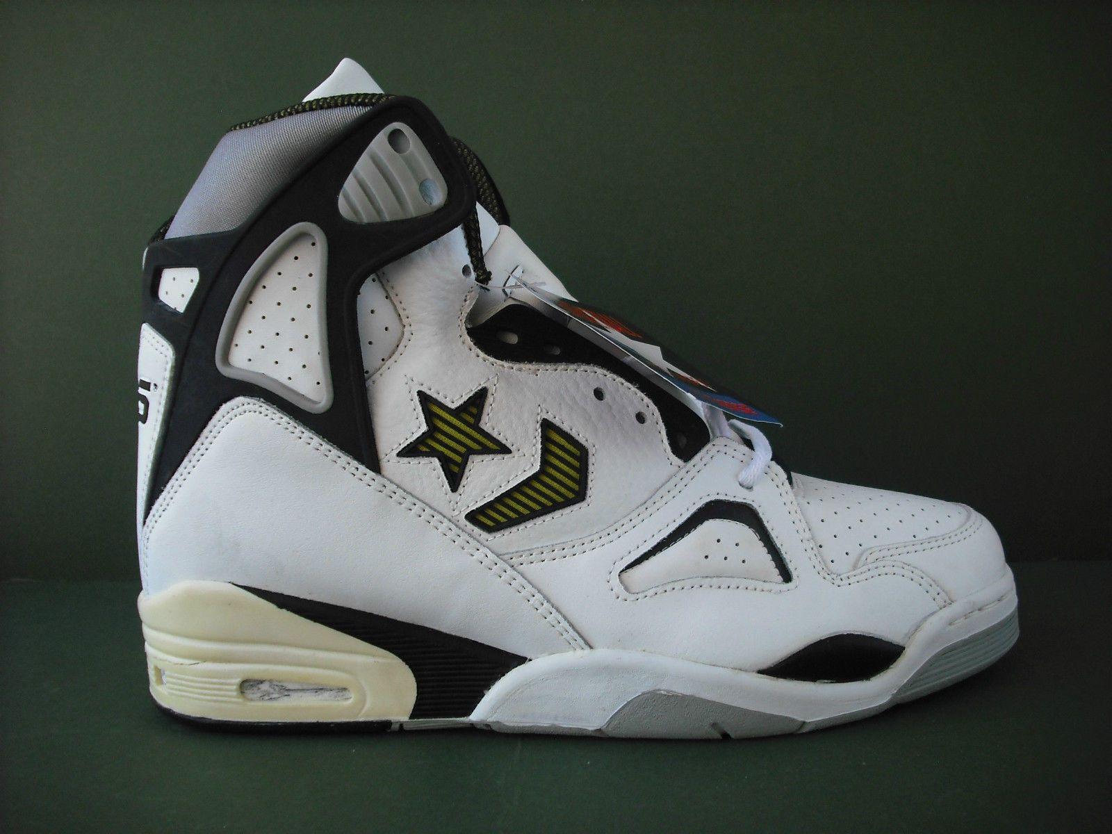 c4fde30ae423cf ... Vintage Converse Pro Conquest Hi Basketball Shoes Bernard King NBA 10  10 5 eBay  Converse Energy Wave ...