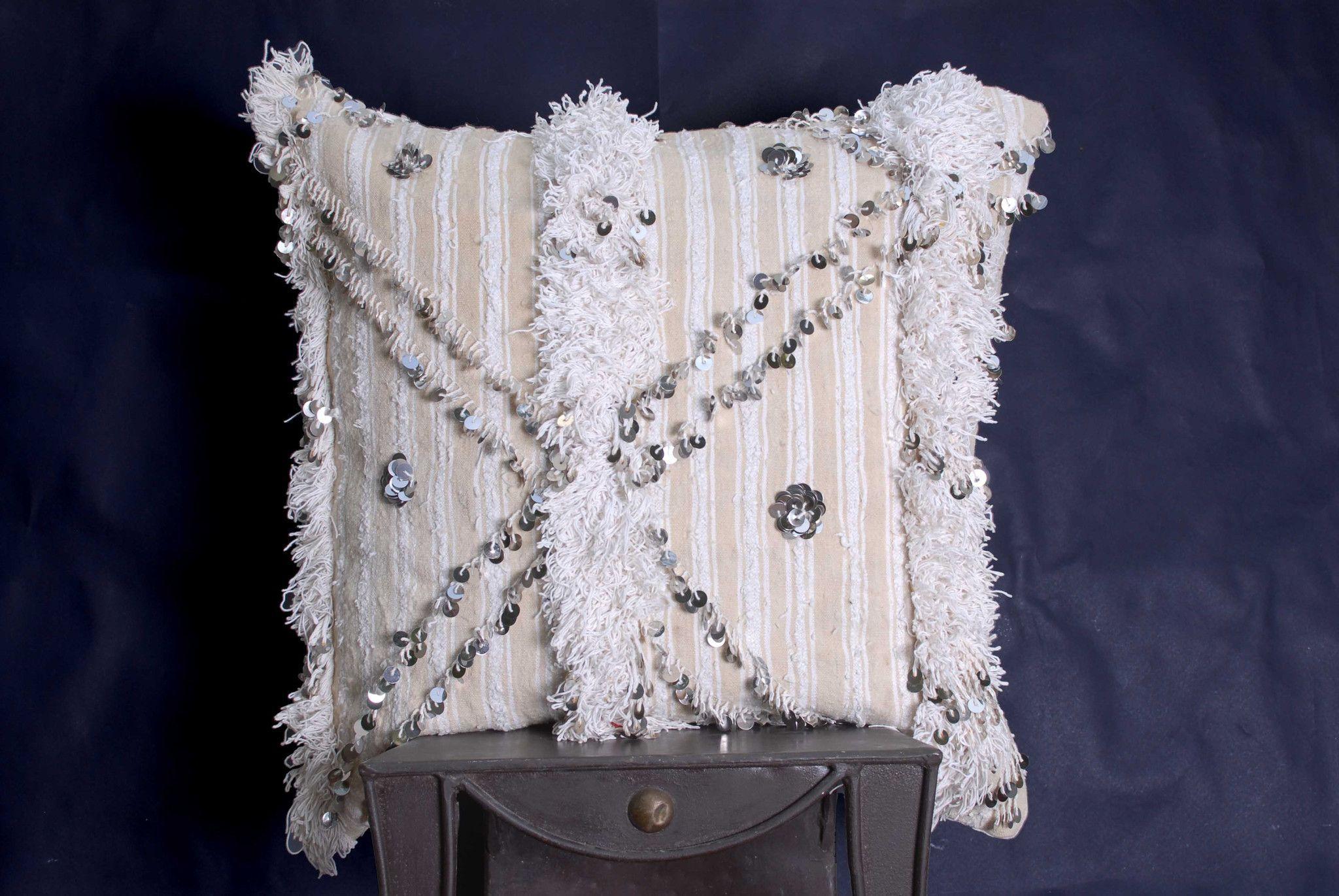 "Handira Cushion Cover 24"" x 24""in (CH148)"
