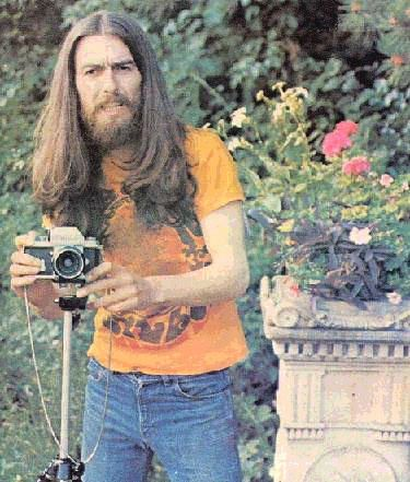 George At Friar Park Photo Is Credited To Apple Scruff Carol Bedford