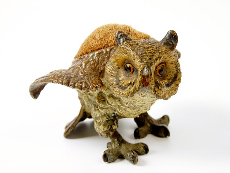 antique pen wipes owl - Google Search
