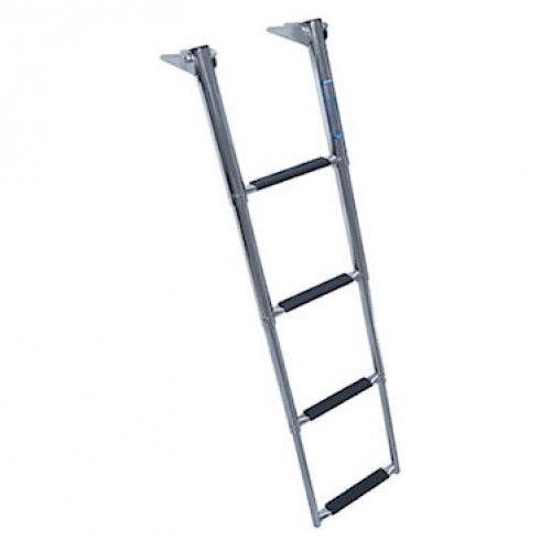 Overplatform Telescoping 4 Step Boat Ladders Ladder Boat Stuff