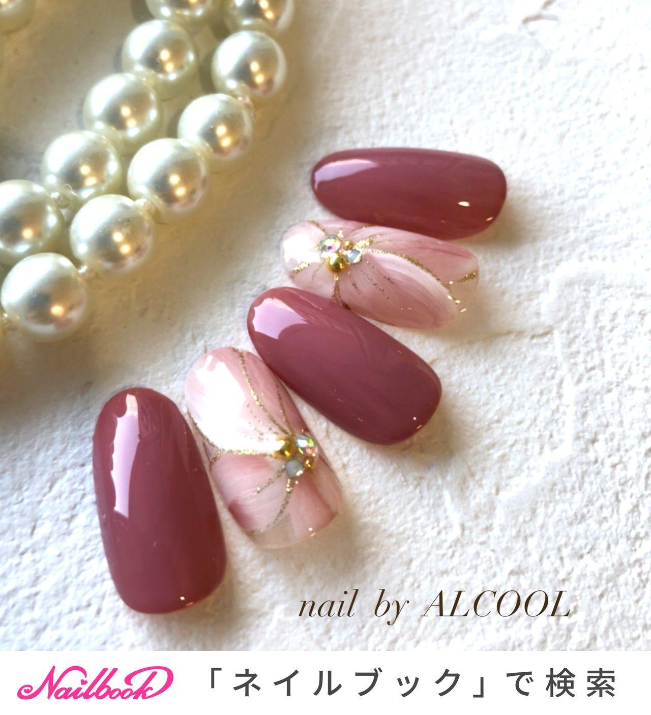 秋/冬/オールシーズン/オフィス/ハンド , namiのネイルデザイン