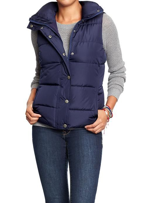 Women's Frost Free Quilted Vests Product Image | Christmas ... : quilted vest navy - Adamdwight.com