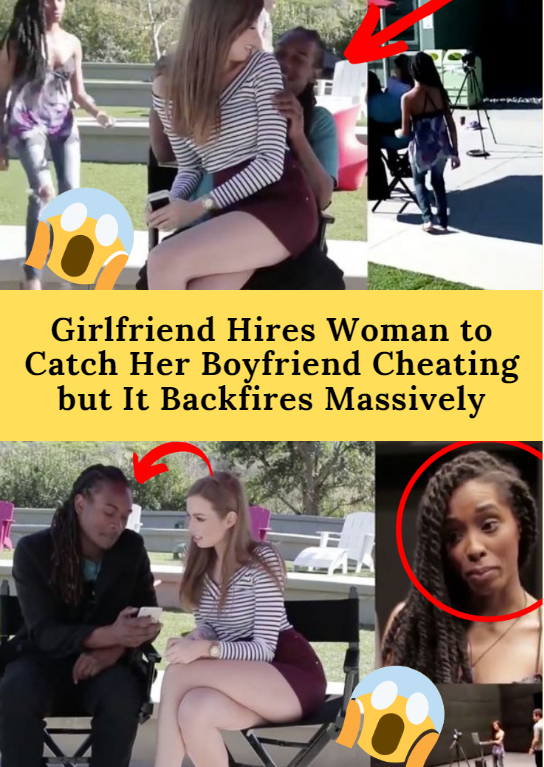 Girlfriend Hires Woman to Catch Her Boyfriend Cheating but ...