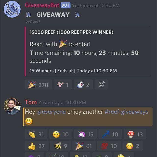 Discord giveaway server