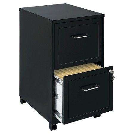 Hirsh Industries Space Solutions File Cabinet On Wheels 2 Drawer Black Target Filing Cabinet Mobile File Cabinet Drawer Filing Cabinet