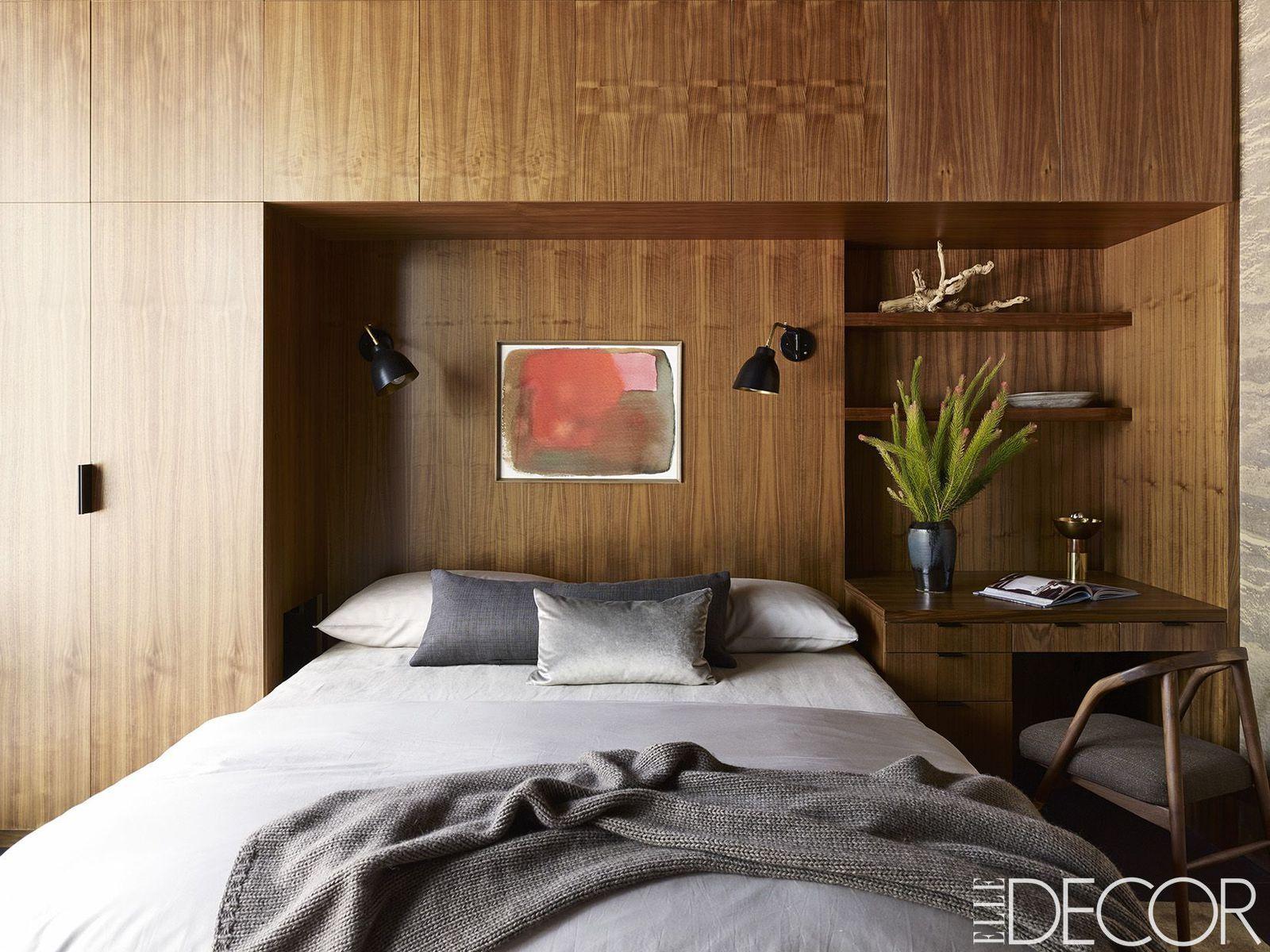 Master bedroom nook  Minimalist Kitchen Small Floors chic minimalist decor interiors